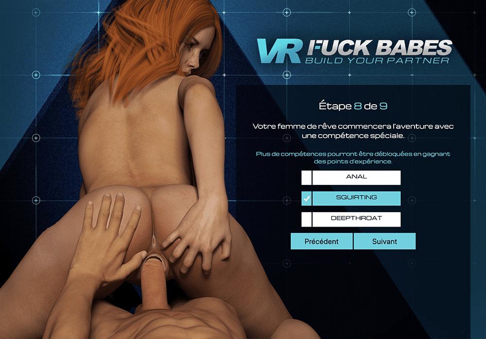 Baiser une fille dans VR Fuck Dolls