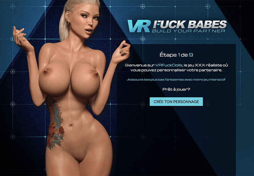 Créer personnage VR Fuck Dolls
