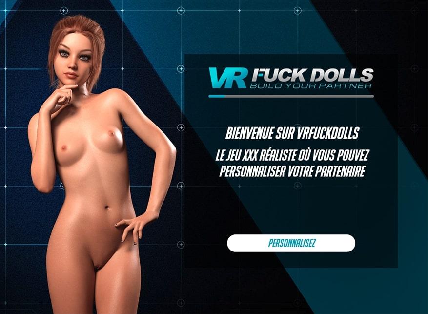 Site du jeu porno VR Fuck Dolls
